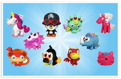 Moshi monsters toys taking USA