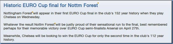 Euro Cup Final