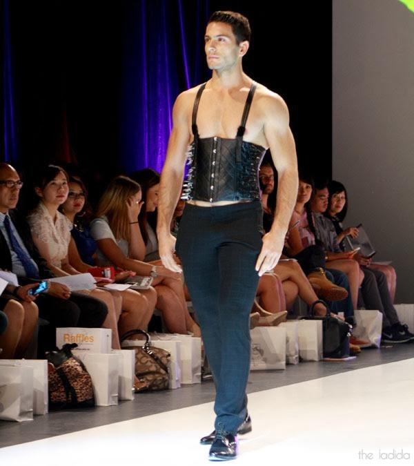 Raffles Graduate Fashion Show 2013 - Li Tung Chou