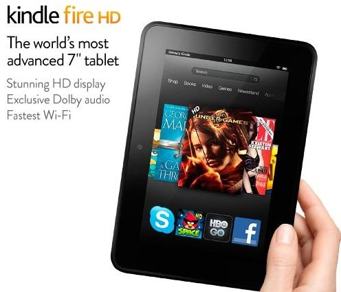 kindle fire hd stunning hd display