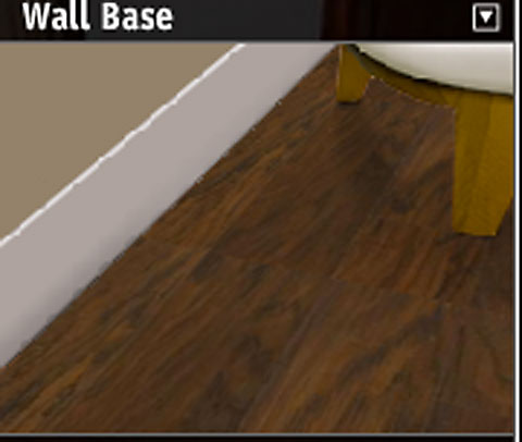 Dark floors plus brown