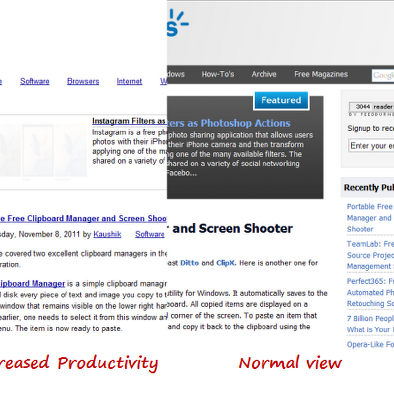 Decreased Productivity Hides Images and Multimedia Content on Webpages for Discreet Browsing