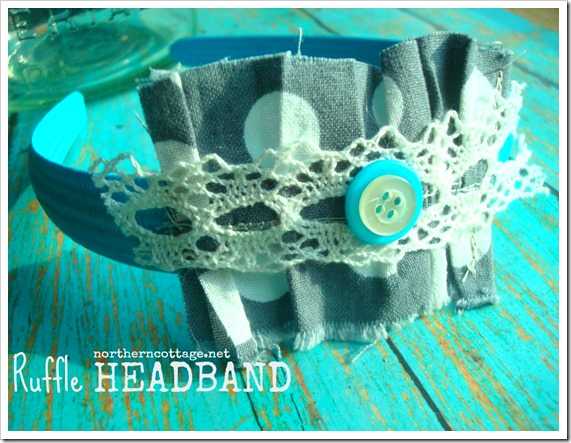 NorthernCottage.net - Handmade Ruffle Headband