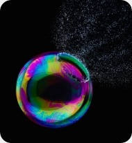 Bubble bursting