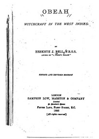 Cover of Hesketh Bell's Book Obeah Witchcraft In The West Indies Ocr Version