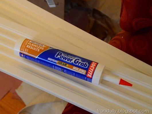 Power Grab molding adhesive