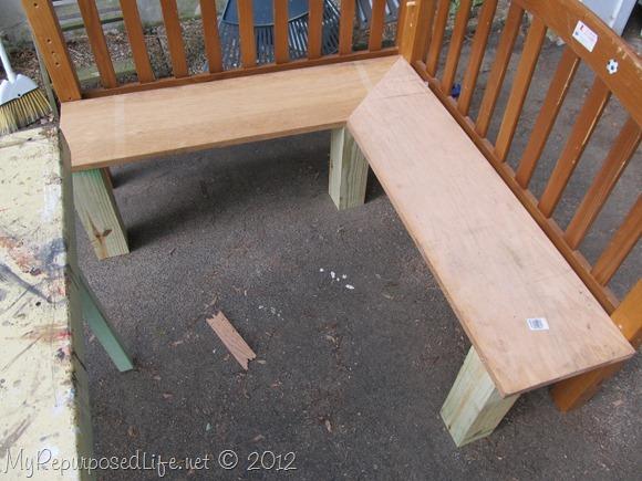kids corner bench