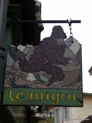 Le migou (BD store)
