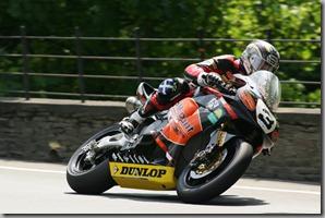 John McGuinness at the TT