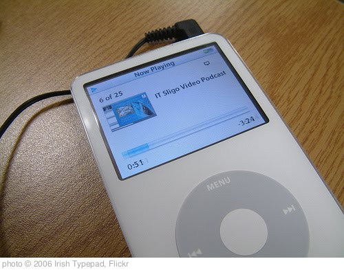 'IT Sligo on the iPod' photo (c) 2006, Irish Typepad - license: http://creativecommons.org/licenses/by-sa/2.0/