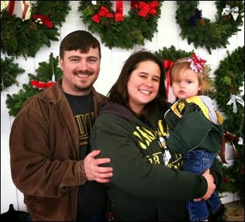 Many Waters Christmas Family Photo 2013