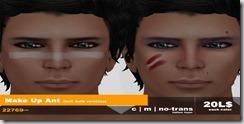22769 ~ visage Ant Makeup