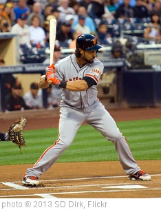'SD Padres Angel Pagan' photo (c) 2013, SD Dirk - license: https://creativecommons.org/licenses/by/2.0/