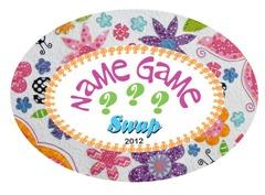 Name Game Swap - Samelia's Mum