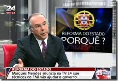 Manuela Ferreira Leite também vai fazer anúncios. Mar.2013