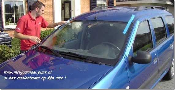 43a Dacia vervangen voorruit