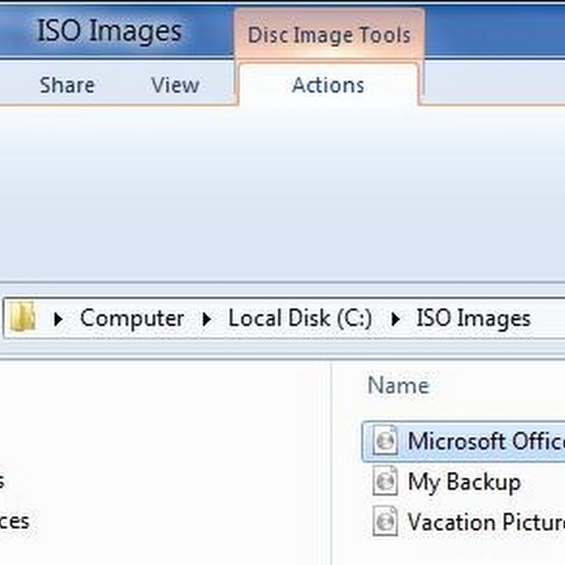 Windows 8 Can Mount ISO Images, Open VHD Files in Explorer