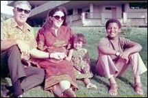 OBAMA mother StanleyAnnDunham with her father and children