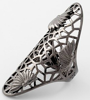 GAIA REPOSSI FOR ZADIG & VOLTAIRE  METAMORPHOSIS ADORNED RING