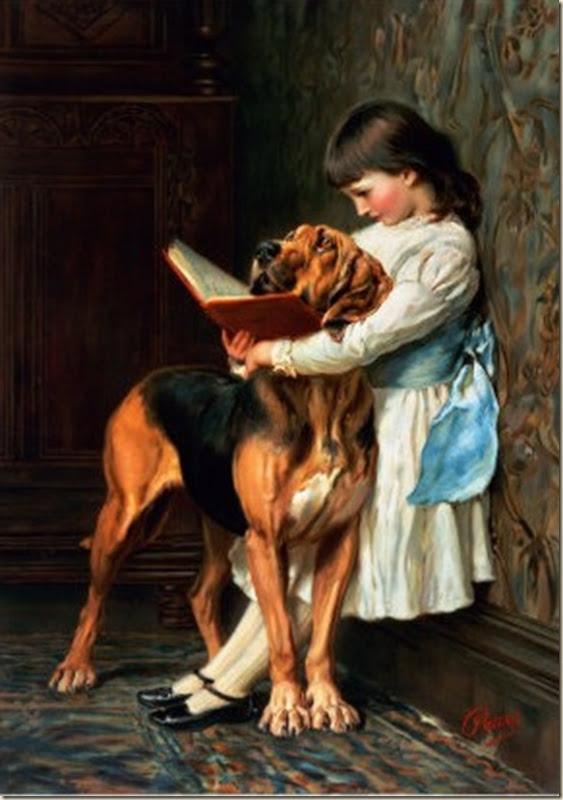 Briton Rivière, Enfant et  son chien