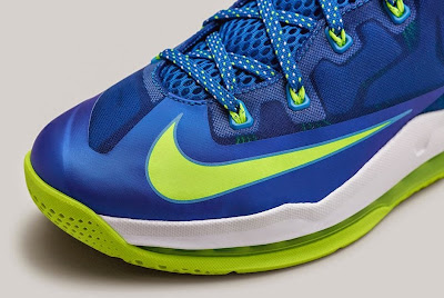 nike lebron 11 low gr sprite hyper cobalt 1 08 Release Reminder: Nike Max LeBron XI Low Sprite
