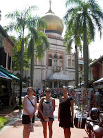 Cruising the Arab Quarter with Waller and Cassie - Singapore