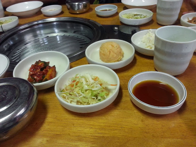 Korean Side dishes @ Sunny Seoul