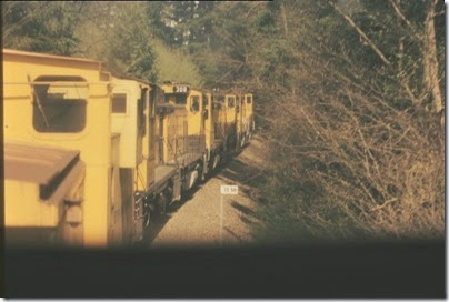 56154116-20 Riding the Weyerhaeuser Woods Railroad (WTCX) on May 17, 2005