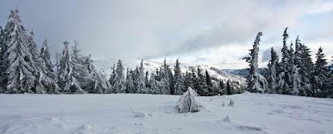 ... stavbu na vrchole Kojšovskej hole dnes nebolo vidieť ...