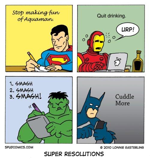 Super Resolutions