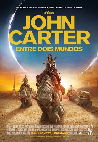 Filme Poster John Carter – Entre Dois Mundos TS XviD & RMVB Dublado