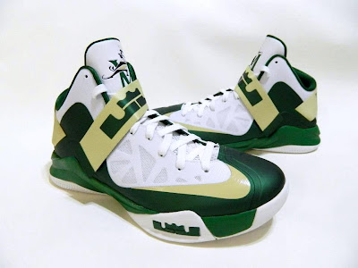 nike zoom soldier 6 pe svsm home 4 05 Detailed Look at Nike Zoom Soldier VI SVSM Fighting Irish PEs