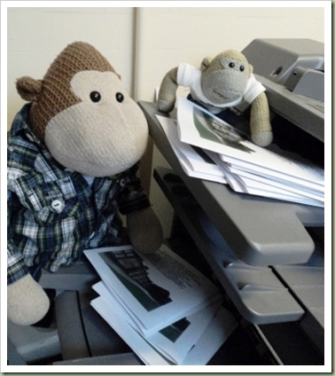 Photocopying Monkeys