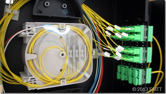 Micromódulo blanco en el casete