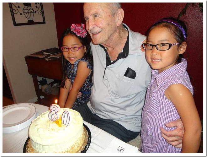 Granpa's 80th 047