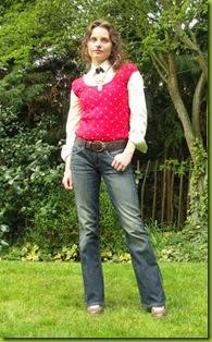 blouse under tank