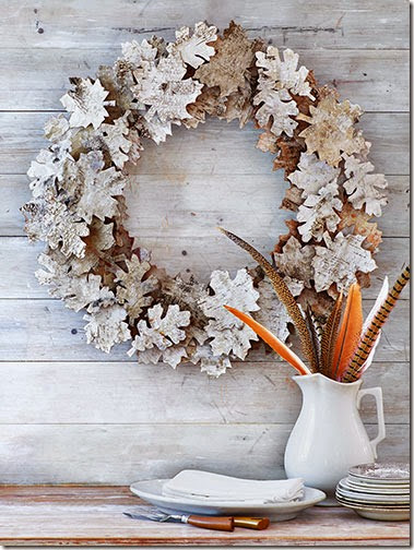Country Living fall wreath