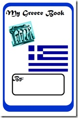Greece Research Book - Free