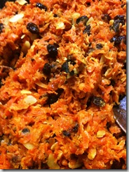 Cooking Carrot Halva