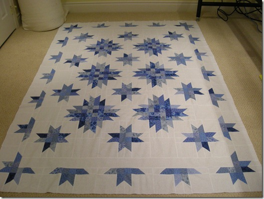 Blue & White Quilt Version 2 001