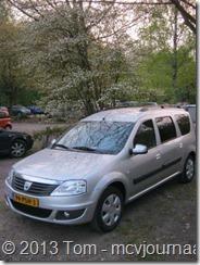 Dacia Logan MCV in Belgie 03