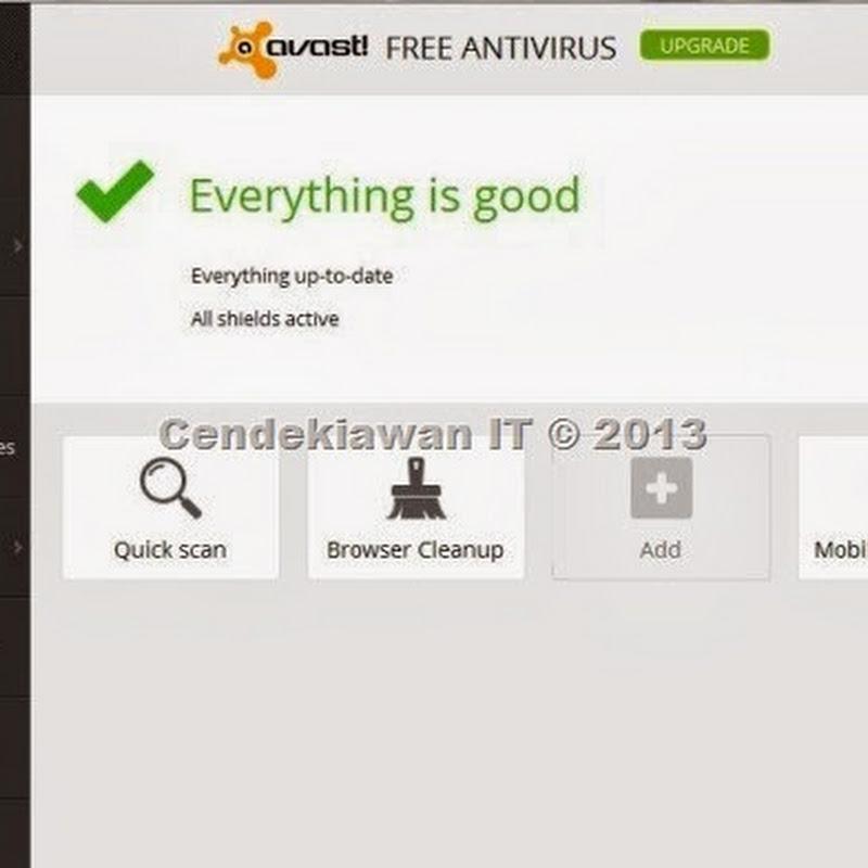 Avast 2014 Free Antivirus Terbaik