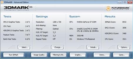 Acer Aspire 5755G-2454G1TMnrs benchmark.1