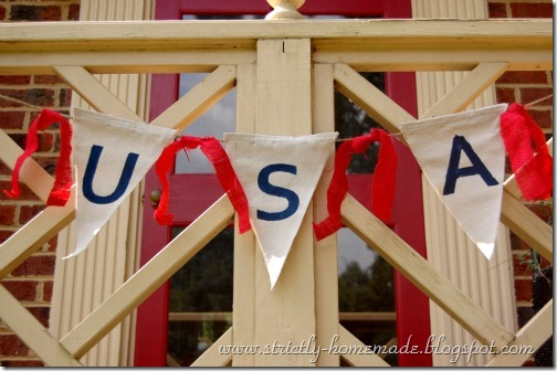 USA Bunting Banner