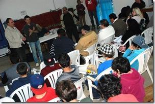 Primera asamblea en San Bernardo