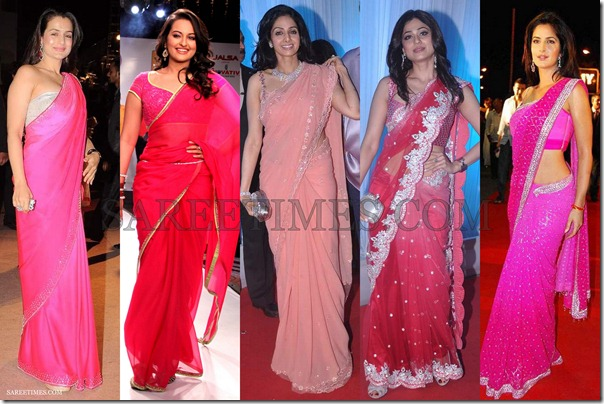 Pink_Bollywood_Saree_Fashion