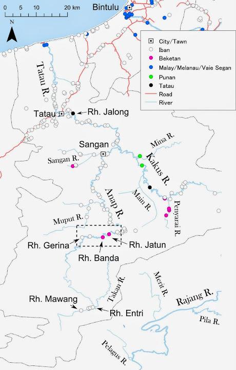 図1: 調査地の位置