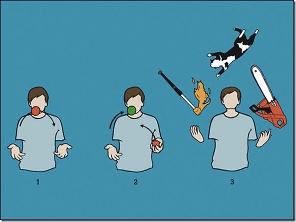 Como se tornar um malabarista fomidavel em 3 passo