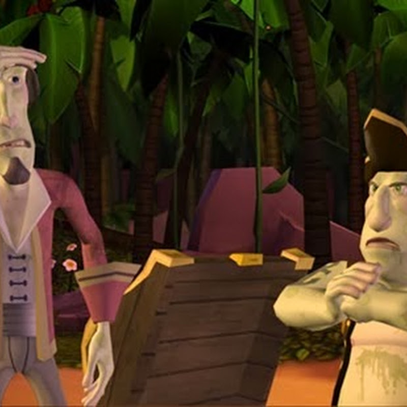 Tales of Monkey Island Chapter 2: The Siege of Spinner Cay.