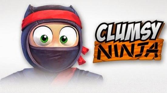 لعبة كلامزى النينجا Clumsy Ninja لأندرويد وأيفون